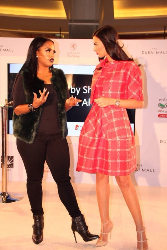 Shereen Mitwalli Best Emcee in Dubai with celebrity