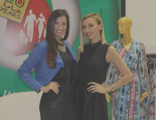 Shereen Mitwalli Best MC in Dubai with Giuliana Rancic
