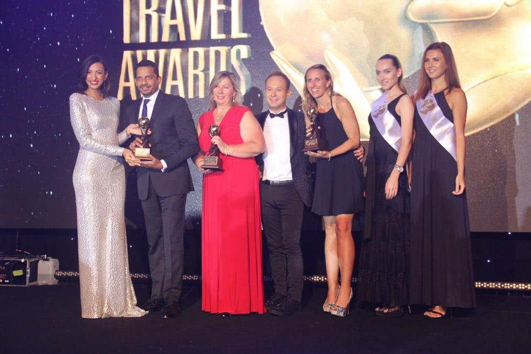 Shereen Mitwalli Best MC in Dubai hosting an event