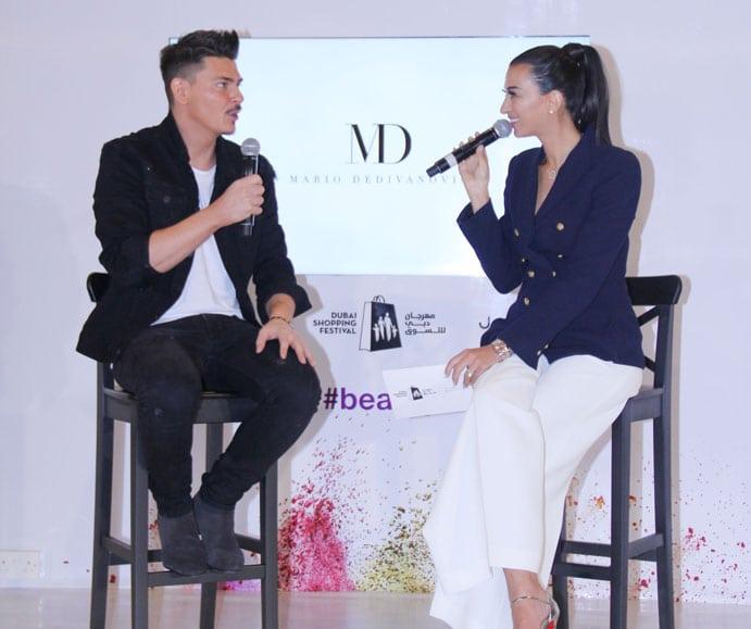 Shereen Mitwalli Best MC in Dubai with Mario Dedivanovic