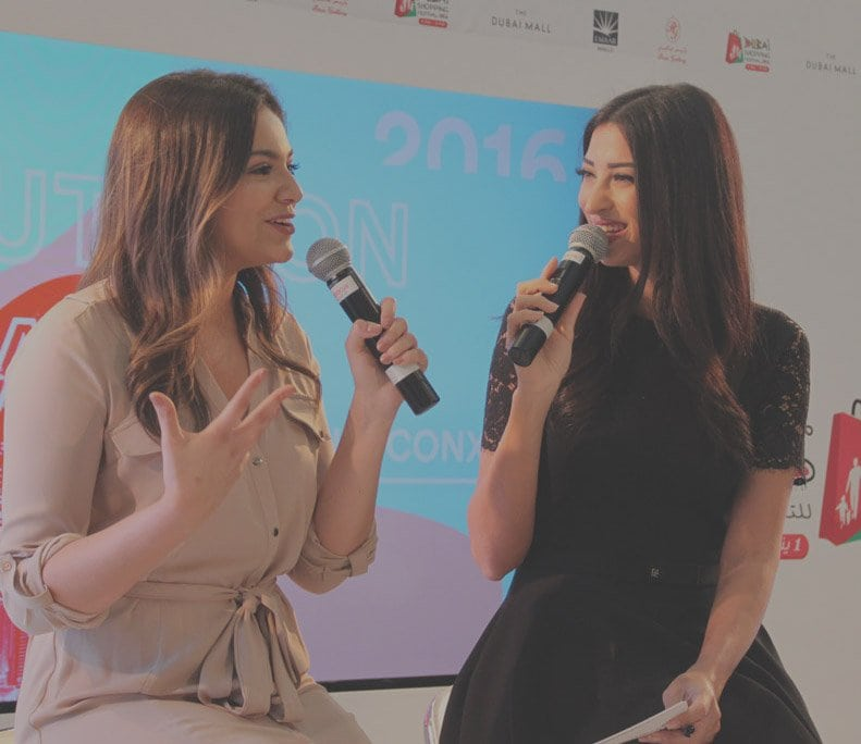 Shereen Mitwalli Best MC in Dubai with Bethany Mota