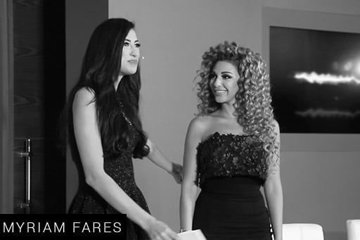 Shereen Mitwalli Best MC in Dubai with Myriam fares