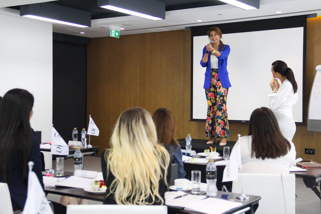 Shereen Mitwalli Best Public Speaker Teaching Public Speaking Masterclass