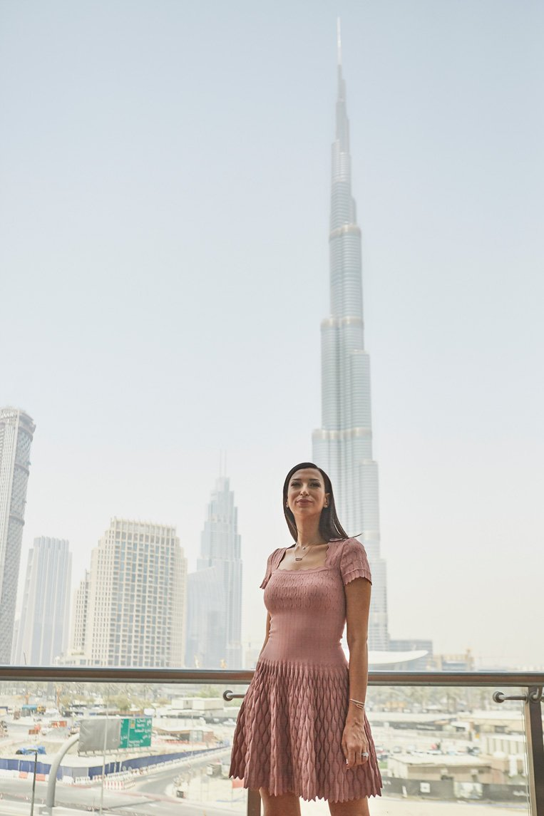 Shereen Mitwalli Best Emcee in Dubai Photshoot for Moica Vinader Campaign
