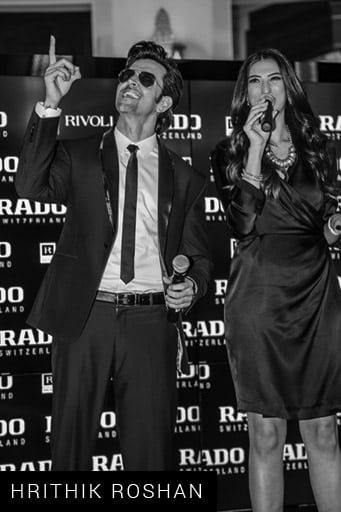 Shereen Mitwalli Best MC in Dubai with Hrithick Roshan